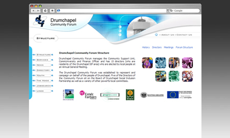 DCF Website Screenshot